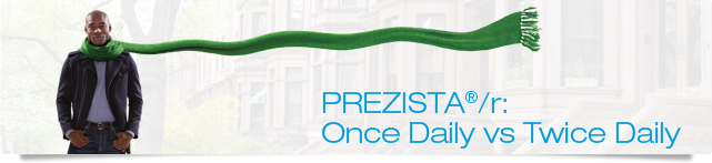 PREZISTA®/r: Once Daily vs Twice Daily